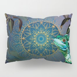 Basilisk Lizard Pillow Sham