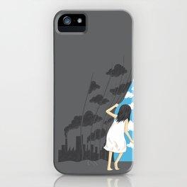 Hey Mr. Blue Sky iPhone Case