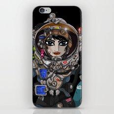 Astronaut Girl. iPhone & iPod Skin