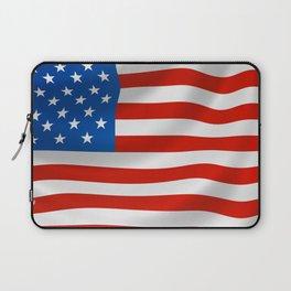 Patriotic American flag Laptop Sleeve