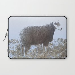 Solitude on straw Laptop Sleeve