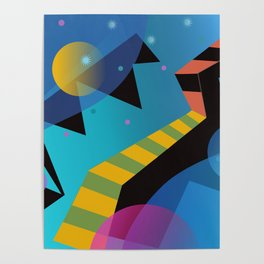 Stairway to the Stars Poster