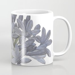 Blue Lily Coffee Mug