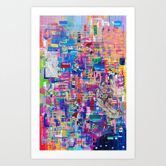 Commitment Foundation Art Print