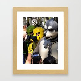 Just Another Day in Berlin Framed Art Print