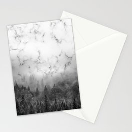 Marble Woods Stationery Cards