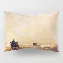 Beach View 1891 By Johan Hendrik Weissenbruch | Reproduction Pillow Sham