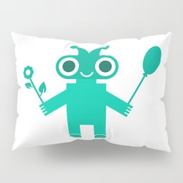 Romantic Robot #society6 #decor #buyart #artprint Pillow Sham