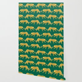 The New Animal Print - Emerald Wallpaper