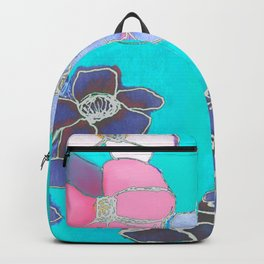 Teal Spring Backpack