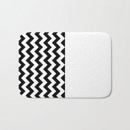 STYLISH (BLACK-WHITE) Bath Mat