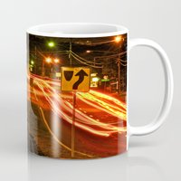 aperture Mugs featuring Late Night by Thomas Eppolito