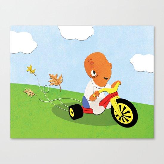 SW Kids - Big Wheel Ackbar Canvas Print