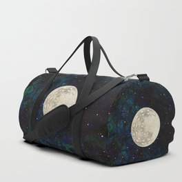 The Flower of Life Moon 2 Duffle Bag