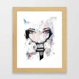 Kori by carographic, Carolyn Mielke Framed Art Print