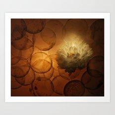 Glowing Art Print