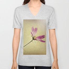 Wind Flower Unisex V-Neck