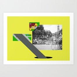 Mekleptein Art Print