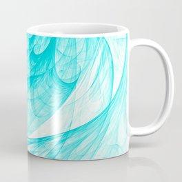 Aqua Marine Waves Coffee Mug