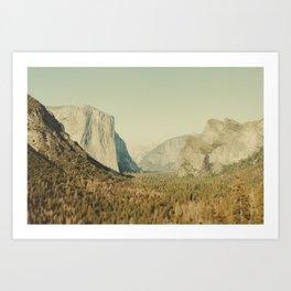 Yosemite Valley II Art Print