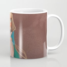 Rabbit girl illustration fantastic Coffee Mug