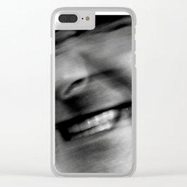 human man Clear iPhone Case