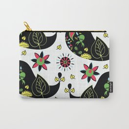 Paisley pattern #4D2 Carry-All Pouch