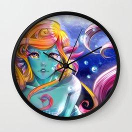 Silk mermaid Wall Clock