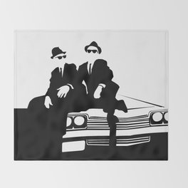 Blues Brothers Throw Blanket