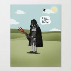 I am your Farmer Canvas Print