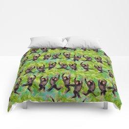 monkey line Comforters