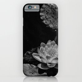 Water lily in a pond iPhone Case