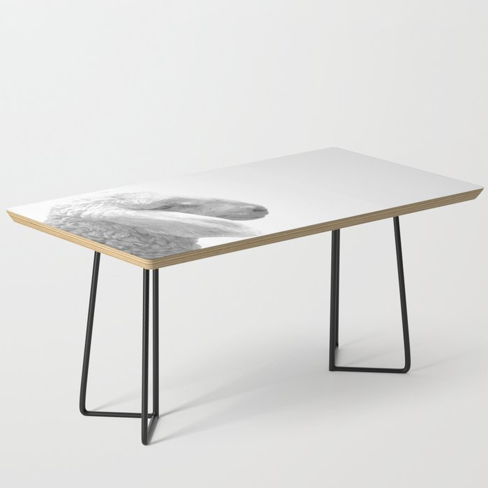 Black and White Sheep Coffee Table