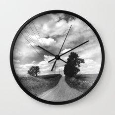 Back Road Adventure Wall Clock
