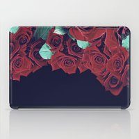 roses iPad Cases featuring Roses by Eleaxart