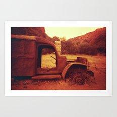 M*A*S*H Truck #01 Art Print