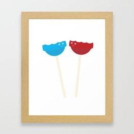 Dead Lollipops Framed Art Print
