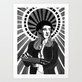 Cher, the Patron Saint of Fashion Art Print