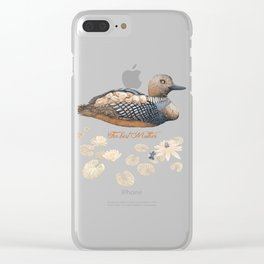 Mother goose Clear iPhone Case