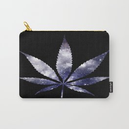 Weed : High Times dark blue Galaxy Carry-All Pouch