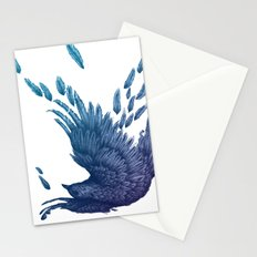 Midnight Falling Stationery Cards