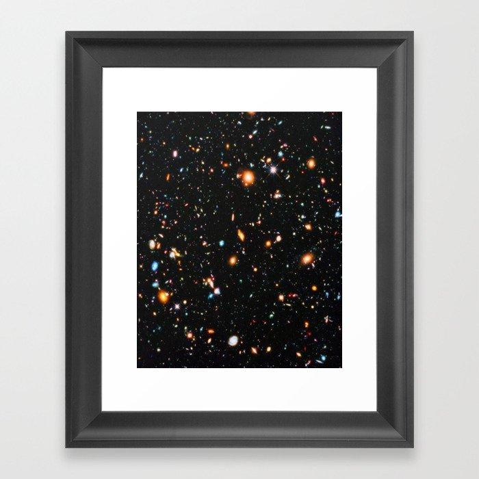 Hubble Extreme Deep Field Gerahmter Kunstdruck
