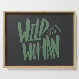 Wild Woman Serving Tray