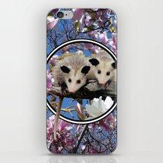 Playing Possum iPhone Skin