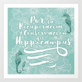 Hippocampus II Art Print