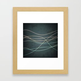 Abstract Lines 1 Framed Art Print