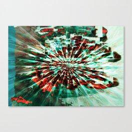 SKELETON FINGERS Canvas Print