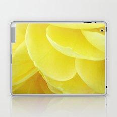 Petals in Yellow Laptop & iPad Skin