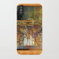 western iPhone & iPod Cases featuring WESTERN GOLD by INA FineArt