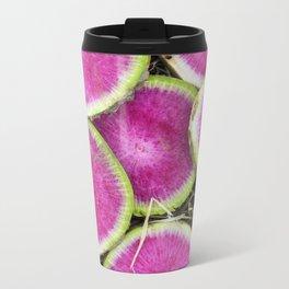 Watermelon Radish Metal Travel Mug